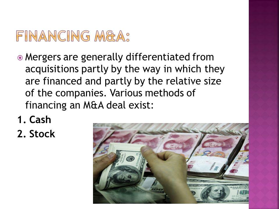 Financing M&A:
