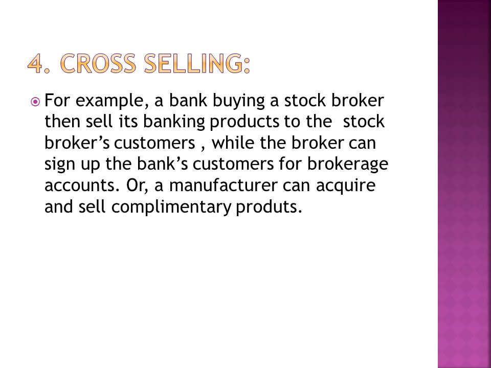 4. Cross Selling: