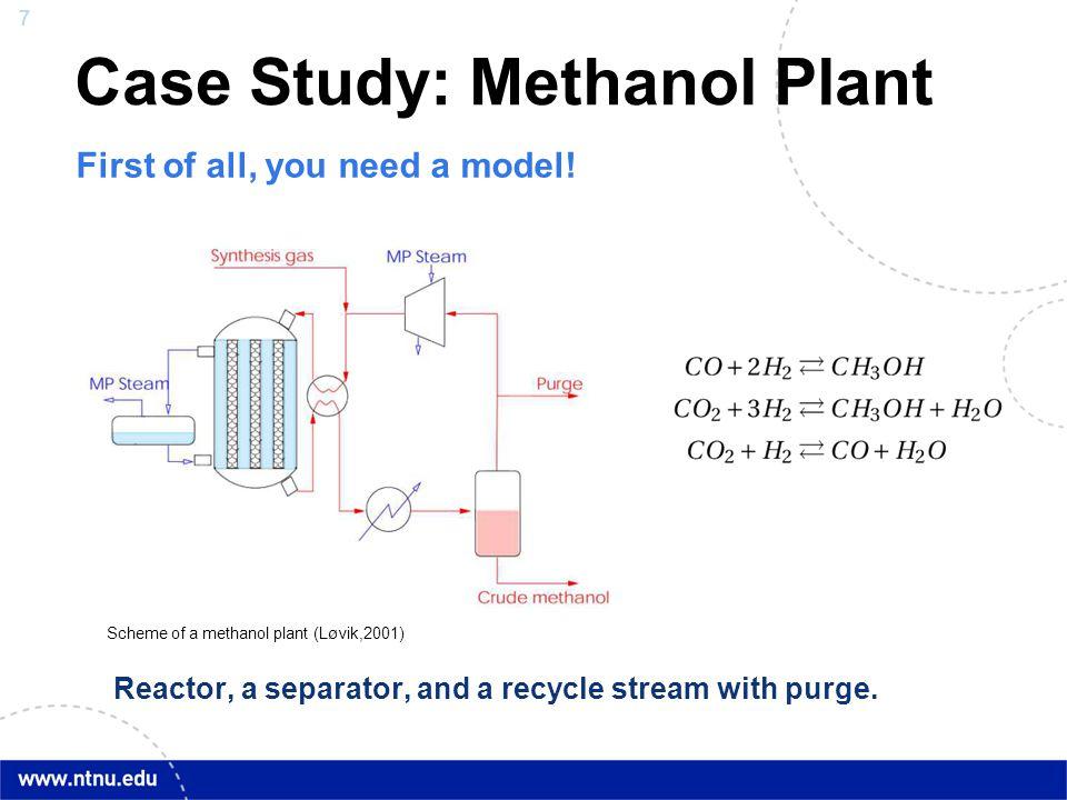 Case Study: Methanol Plant
