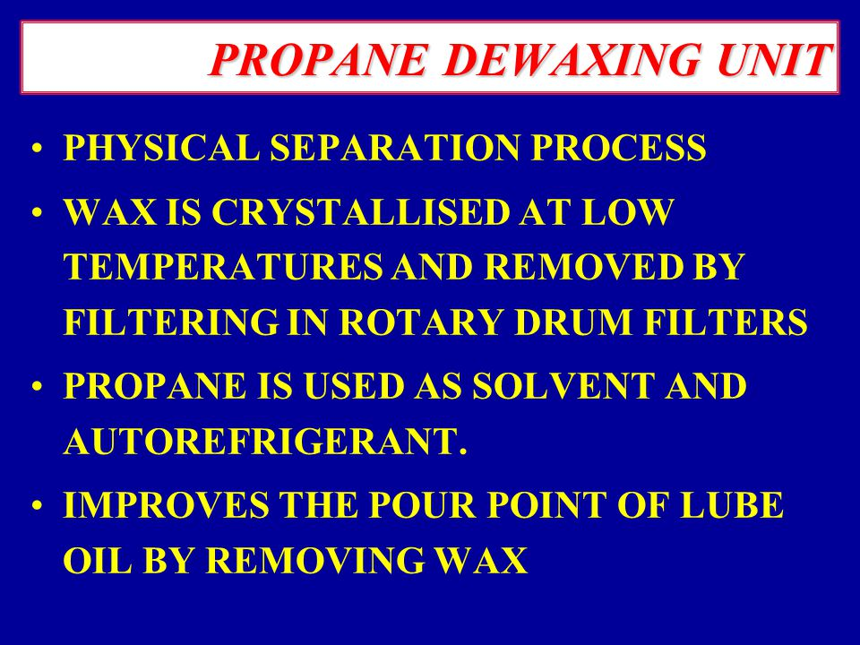 several methods of dewaxing and the Two methods of dewaxing and comparison of them  catalytic dewaxing are the two commercial methods of dewaxing that  the feedstock in a several.