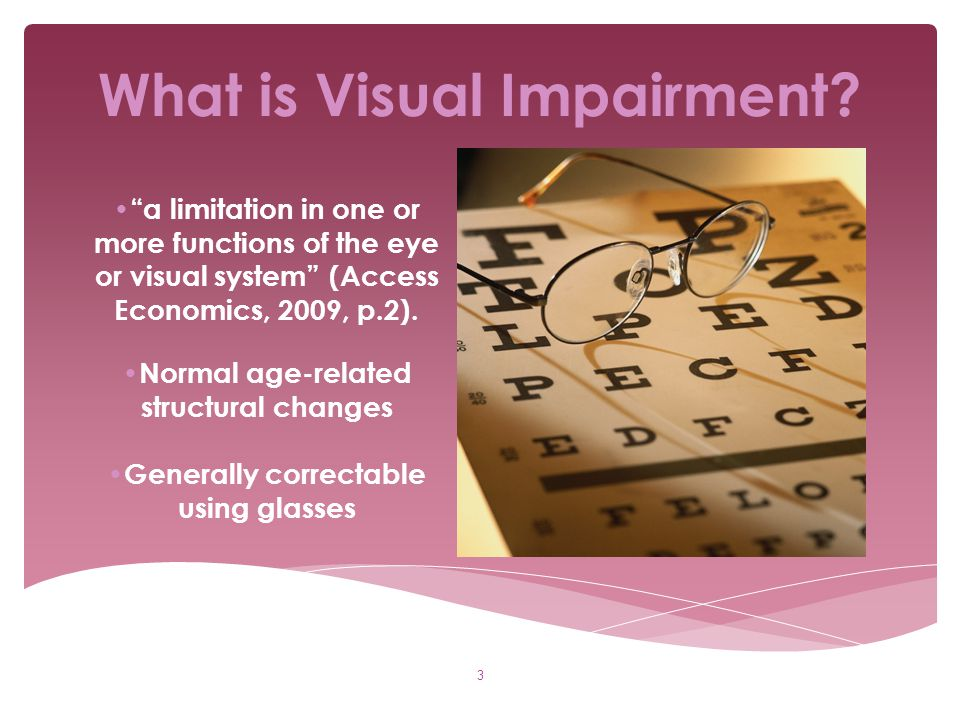 What is Visual Impairment