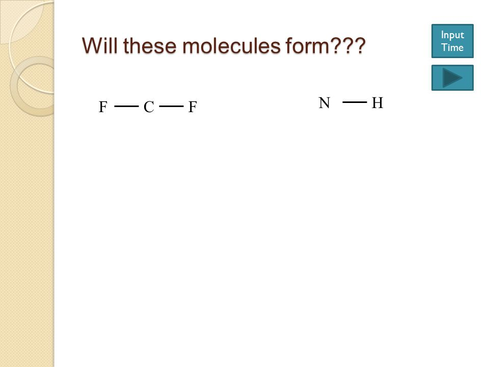 Will these molecules form