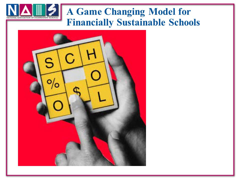 A Game Changing Model for Financially Sustainable Schools