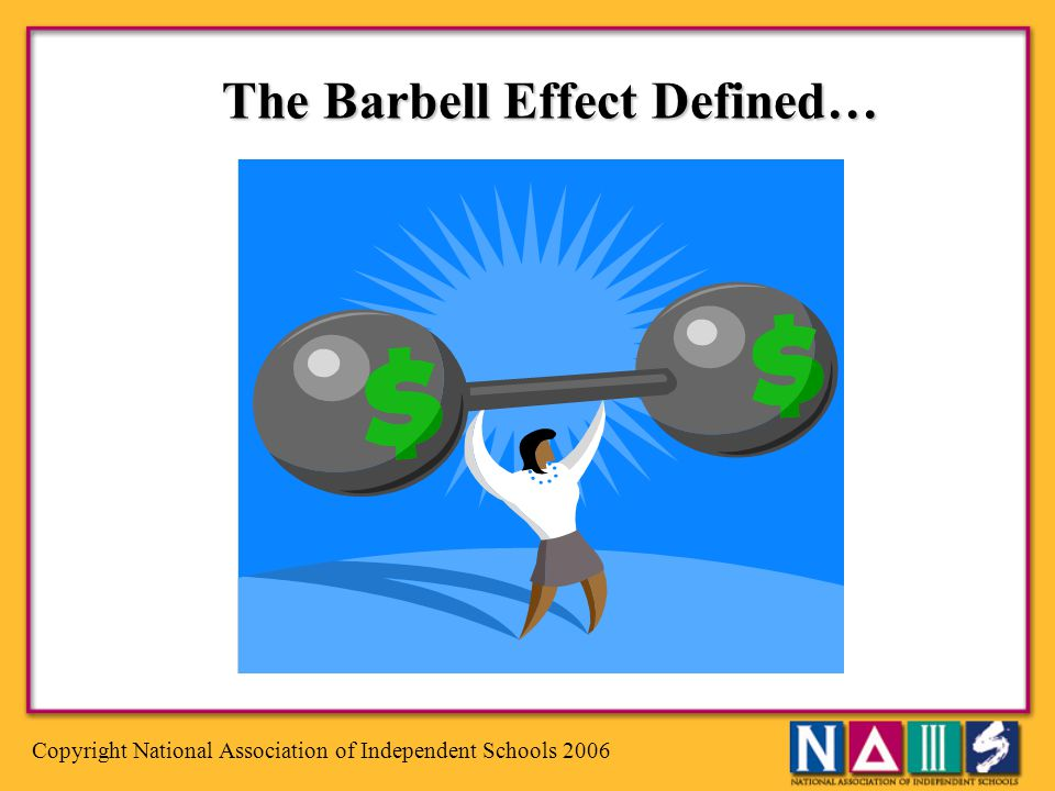 The Barbell Effect Defined…