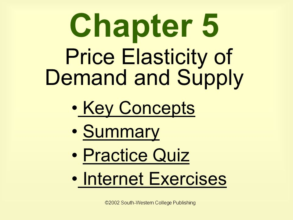 quiz questions on price elasticity of Aqa economics as - price elasticity of demand price elasticity of demand measures the responsiveness of demand after a change in a product's own price quiz by.