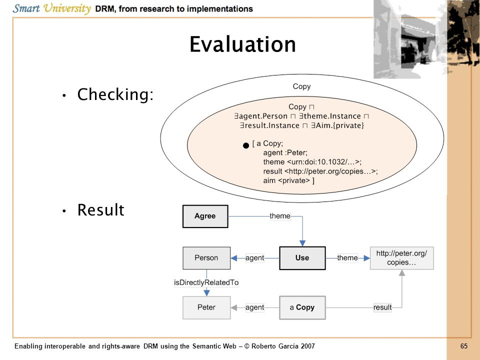 Evaluation Checking: Result