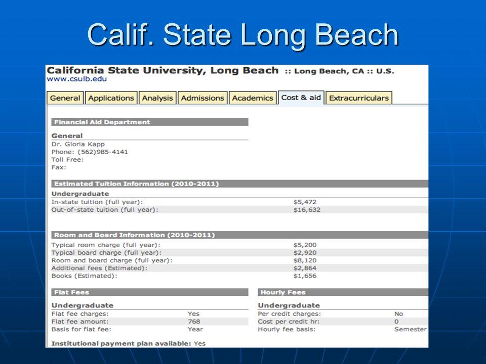 Calif. State Long Beach