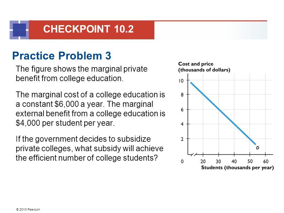 Practice Problem 3 CHECKPOINT 10.2