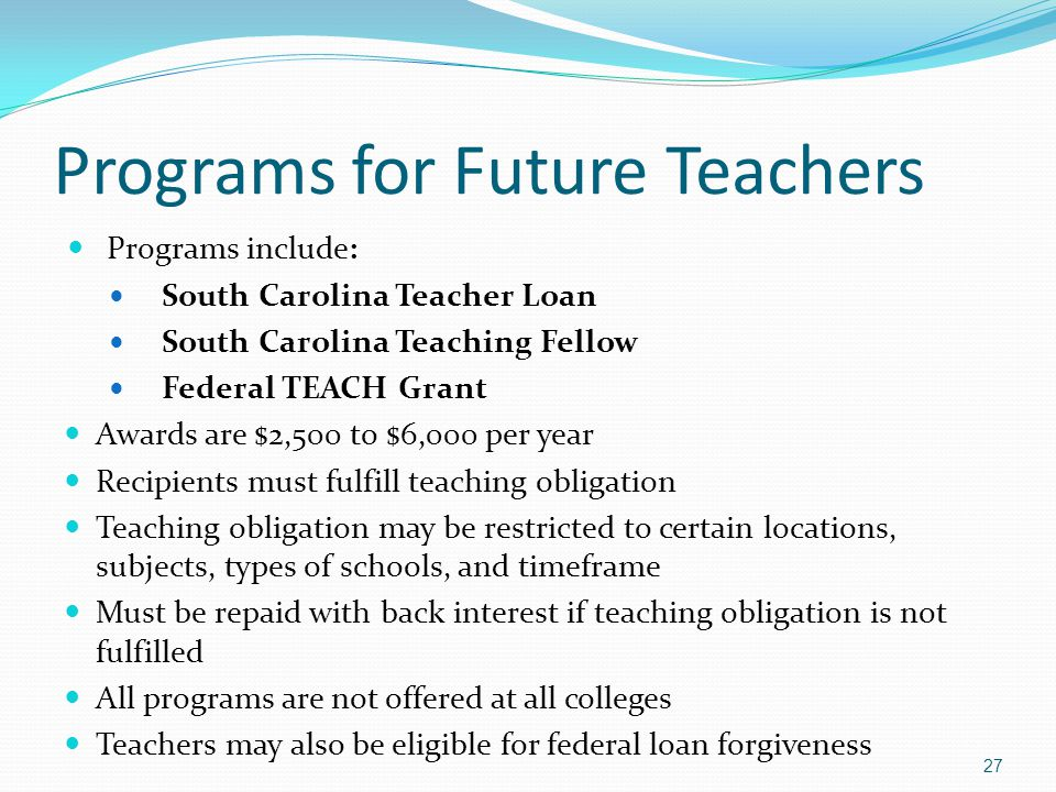 Programs for Future Teachers
