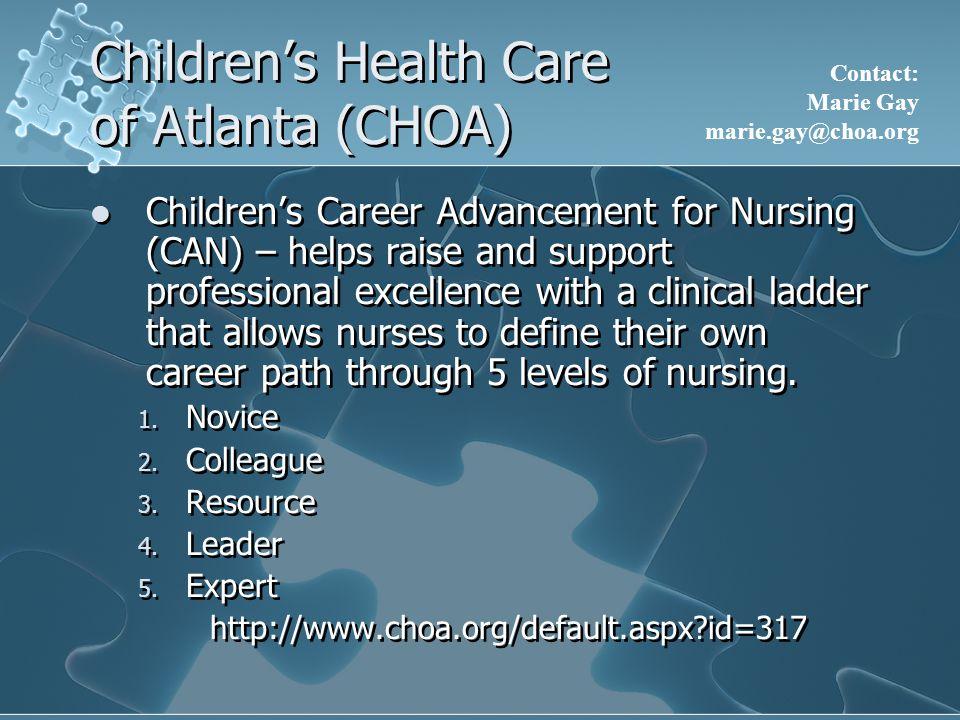 Children's Health Care of Atlanta (CHOA)