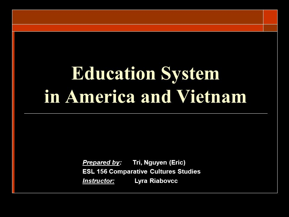 Understanding the American Education System