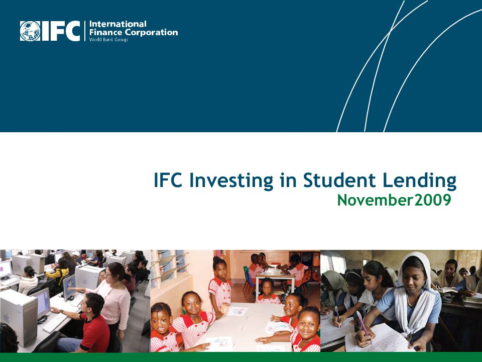 IFC Investing in Student Lending