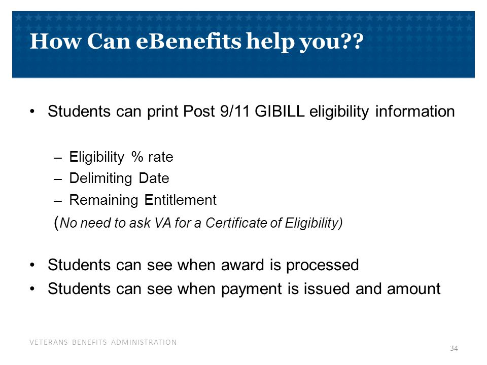 Resources www.gibill.va.gov Locate your ELR Download SCO Handbook