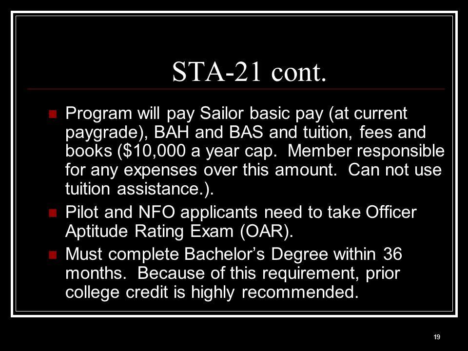 STA-21 cont.