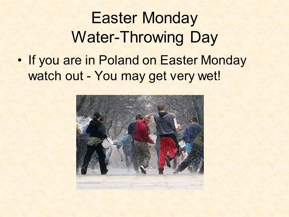 Easter Monday Water-Throwing Day