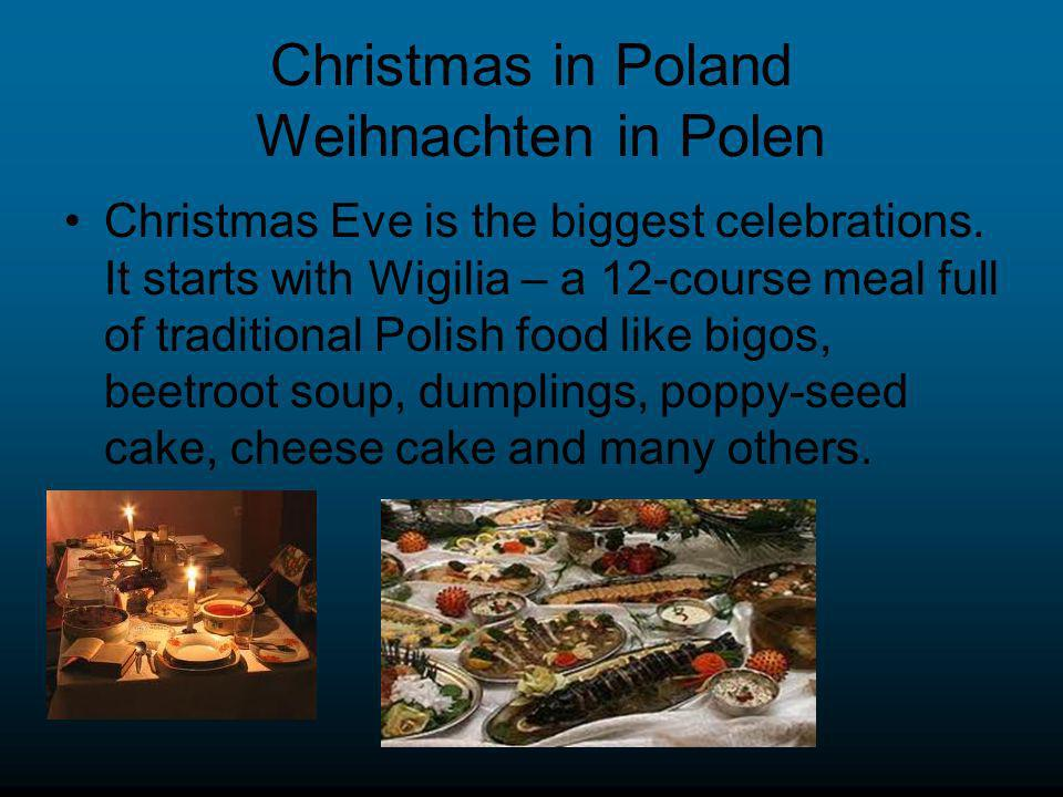 Christmas in Poland Weihnachten in Polen