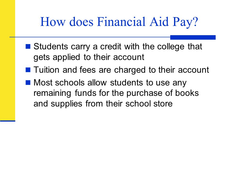 How does Financial Aid Pay