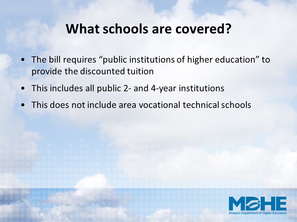 What schools are covered