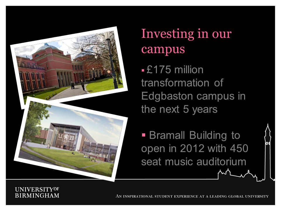 Investing in our campus