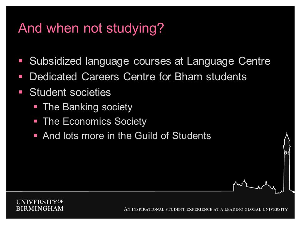 And when not studying Subsidized language courses at Language Centre