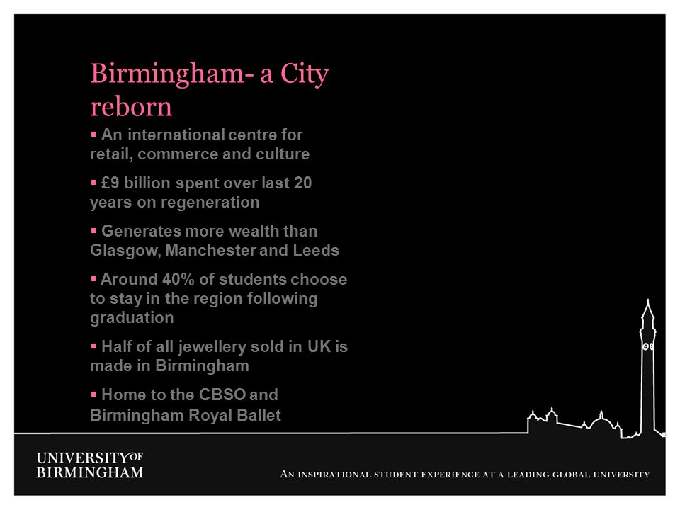 Birmingham- a City reborn