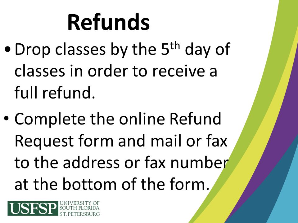 Welcome To Usfsp! …Now, Tell Me About The Money! - Ppt Download