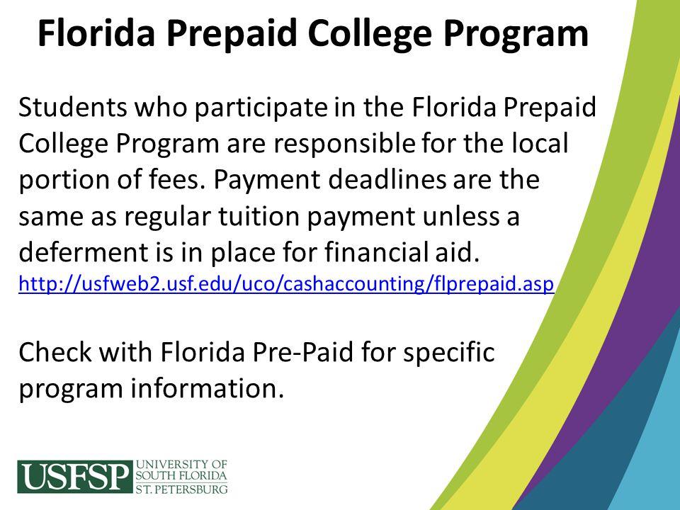 Florida Prepaid College Program
