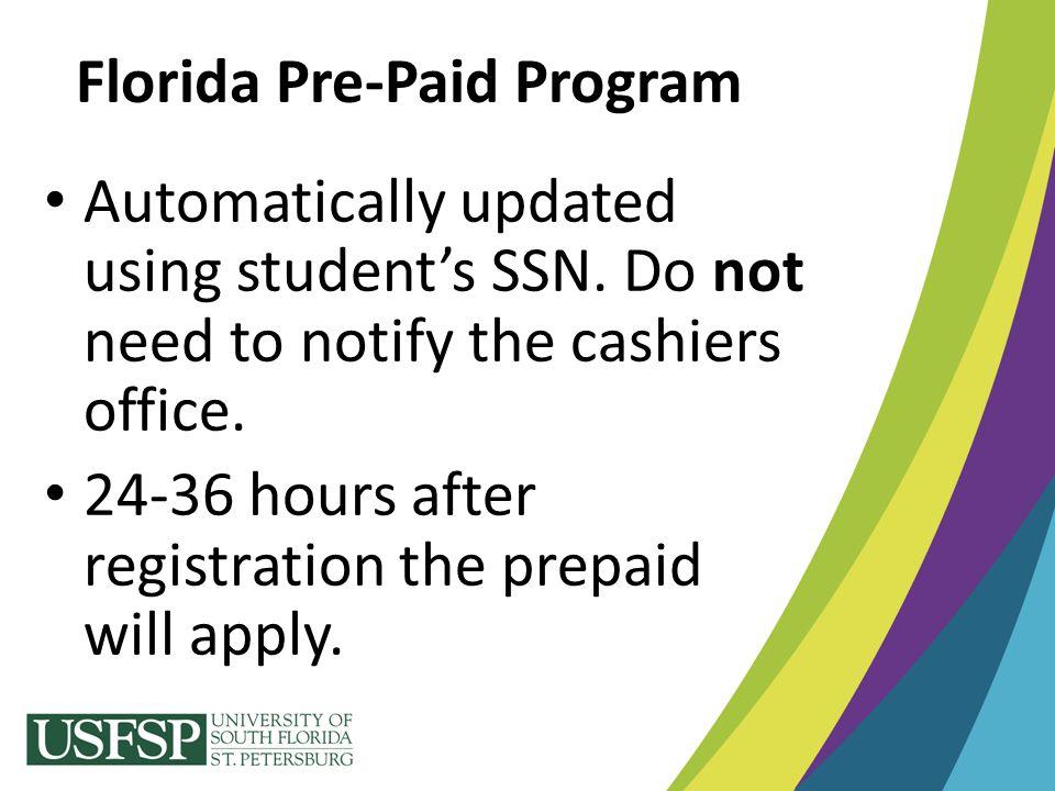 Florida Pre-Paid Program