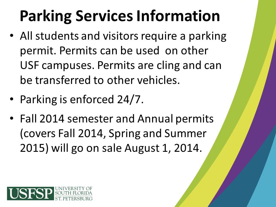 Parking Services Information