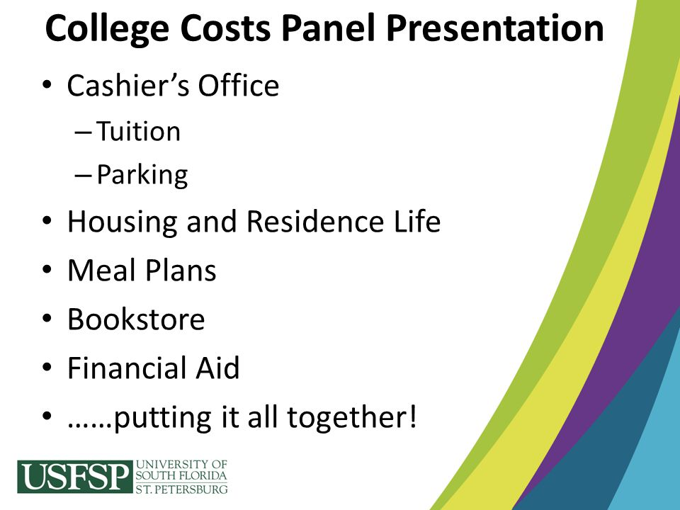 College Costs Panel Presentation