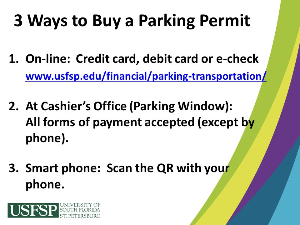3 Ways to Buy a Parking Permit