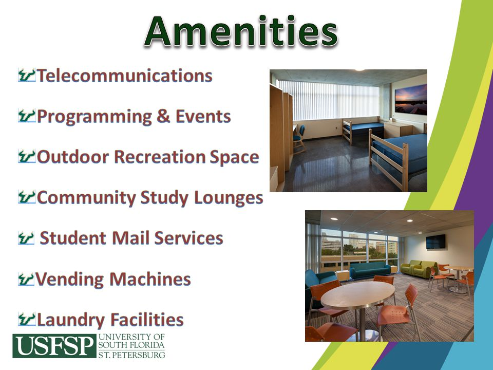 Amenities Telecommunications Programming & Events