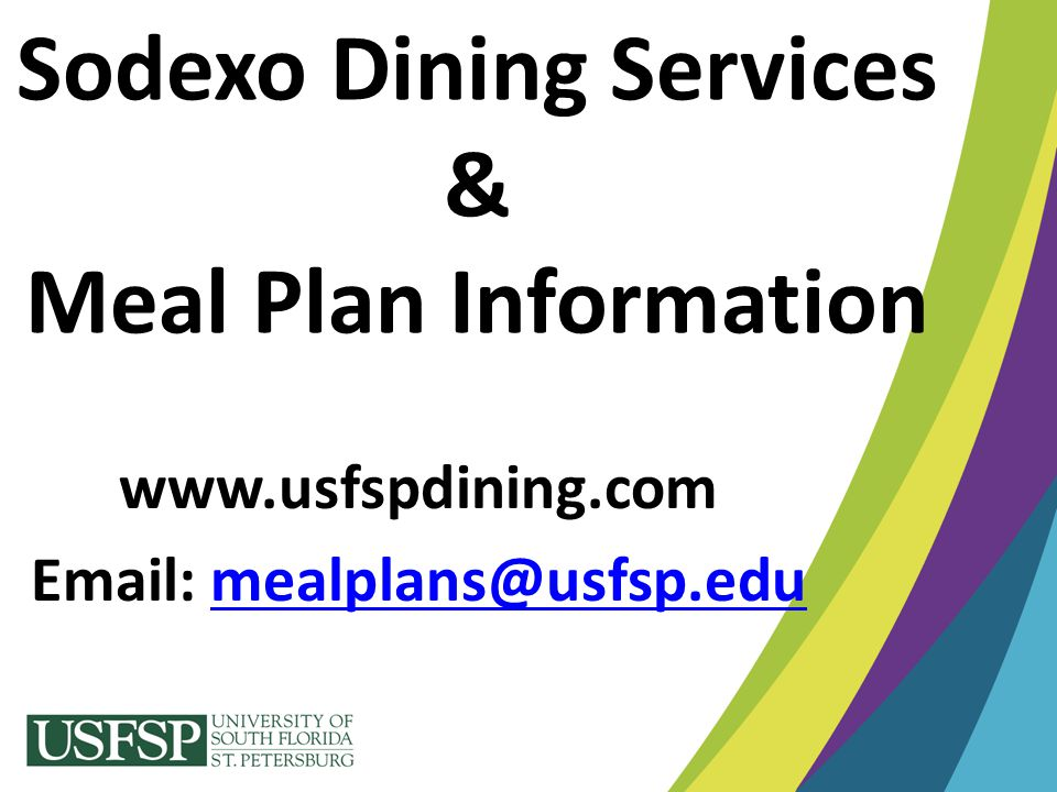 Sodexo Dining Services & Meal Plan Information