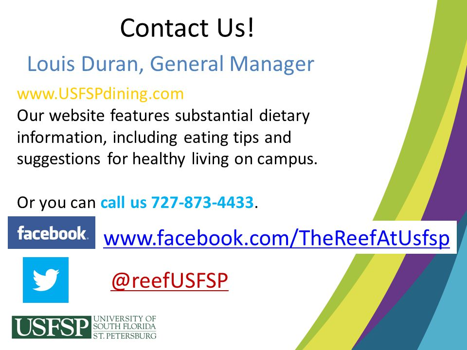 Contact Us! Louis Duran, General Manager
