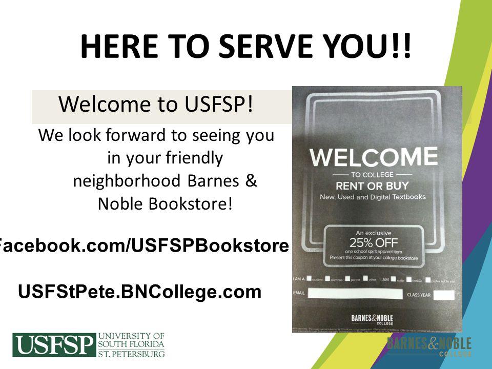 Facebook.com/USFSPBookstore