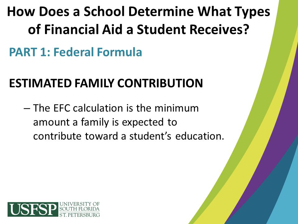 How Does a School Determine What Types of Financial Aid a Student Receives