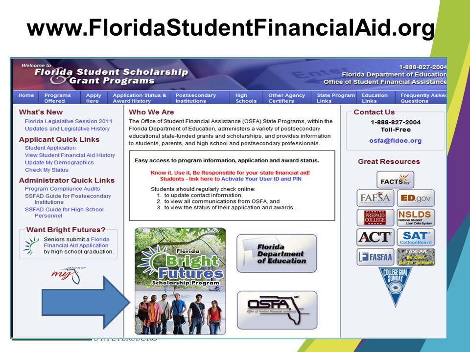 www.FloridaStudentFinancialAid.org