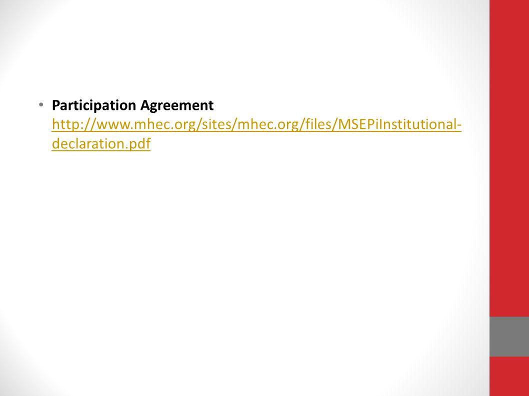 Participation Agreement http://www. mhec. org/sites/mhec