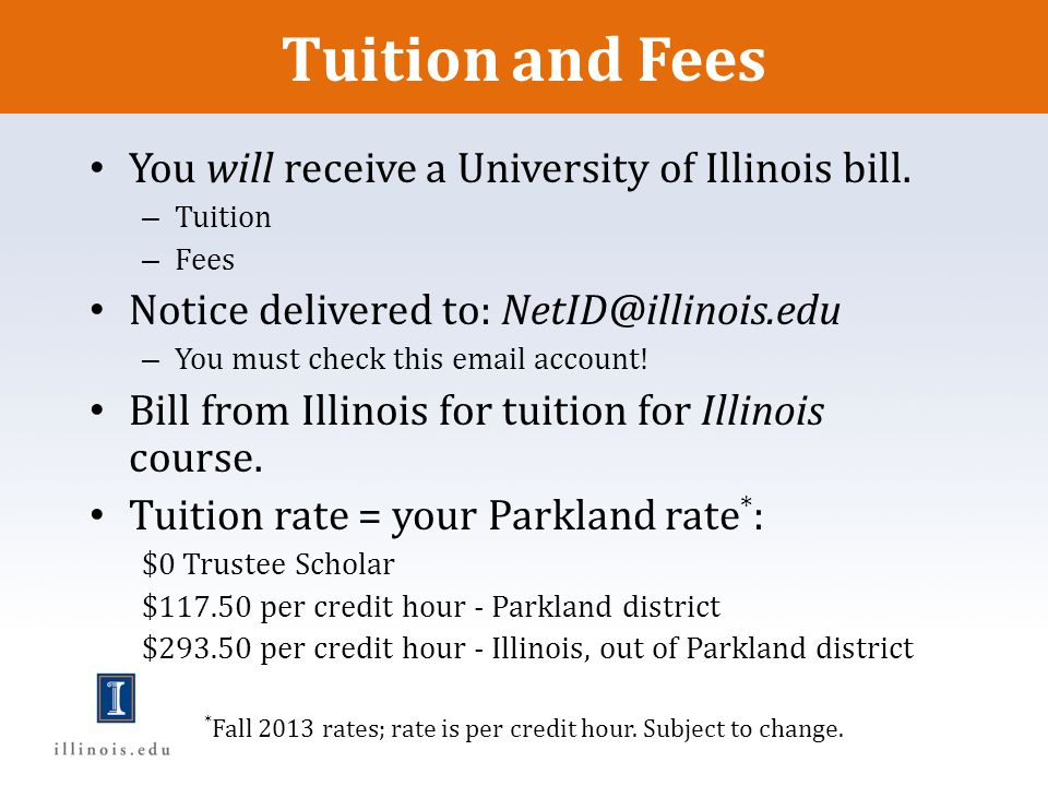 *Fall 2013 rates; rate is per credit hour. Subject to change.