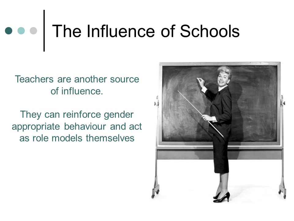 The Influence of Schools