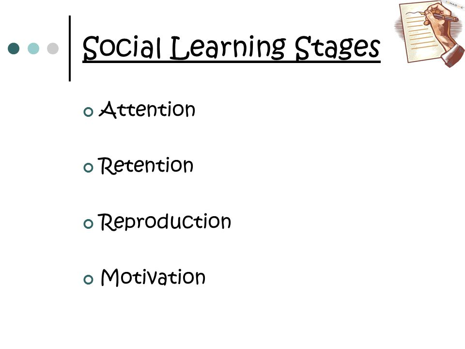 Social Learning Stages