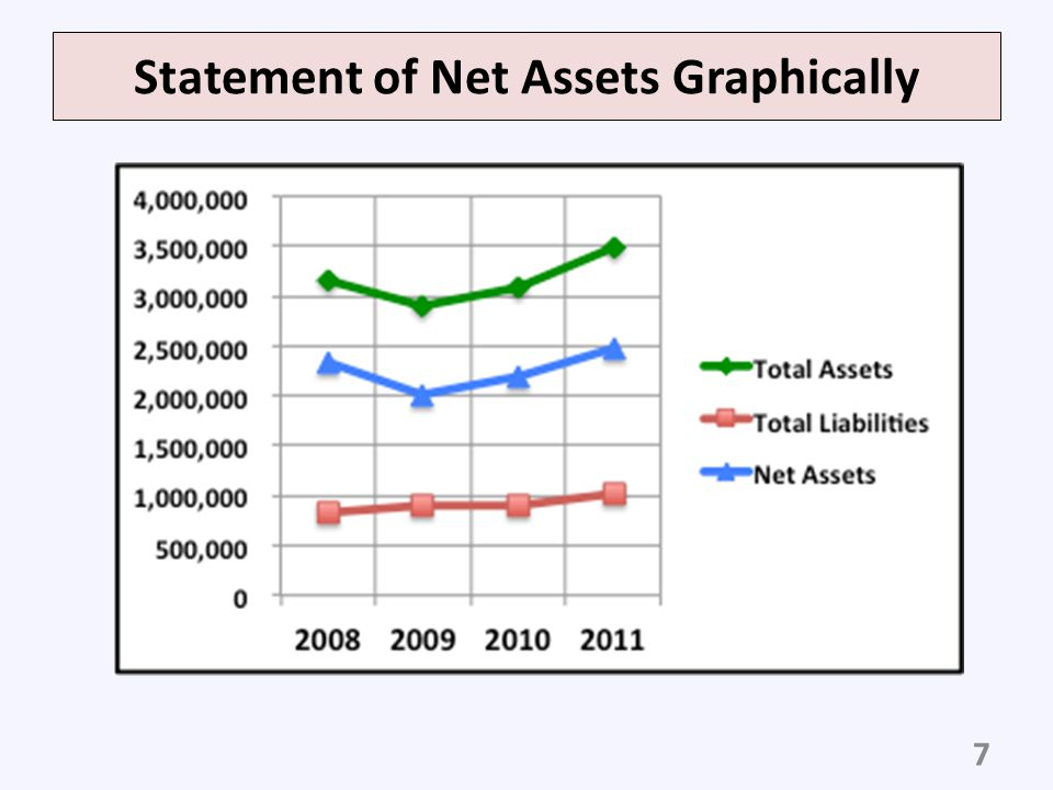 Statement of Net Assets Graphically