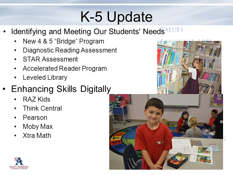 K-5 Update Enhancing Skills Digitally