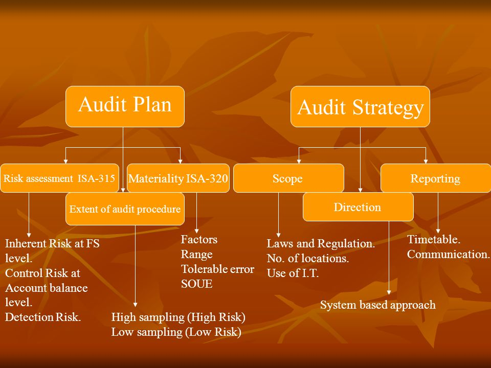 Extent of audit procedure