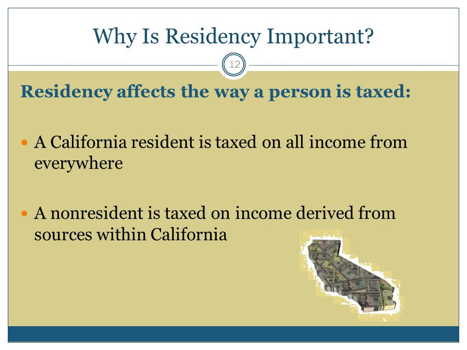Why Is Residency Important