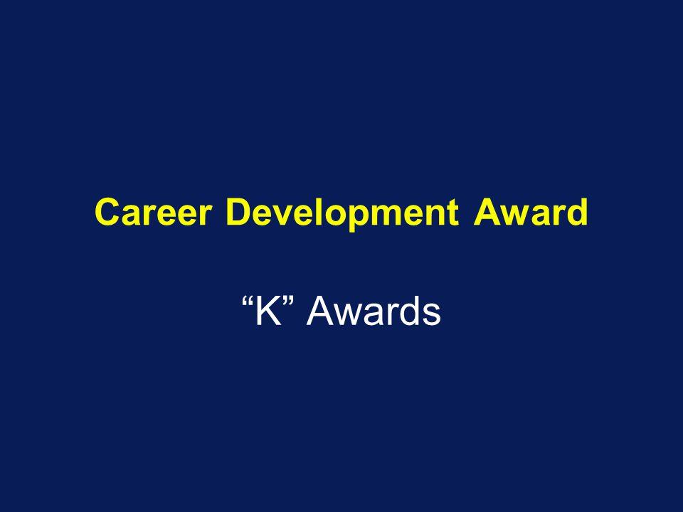 Career Development Award