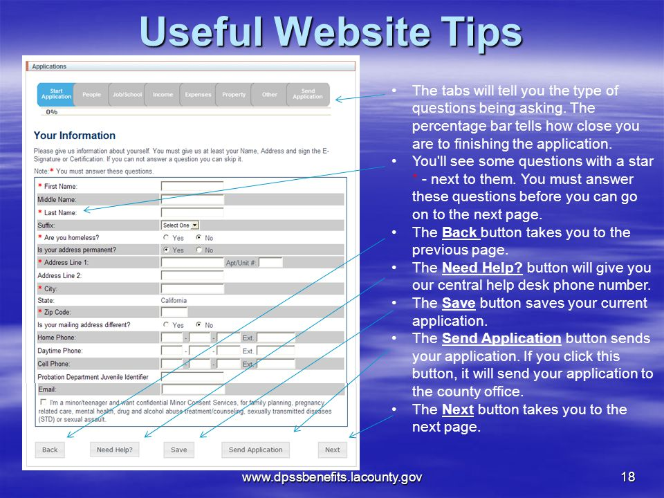 Useful Website Tips