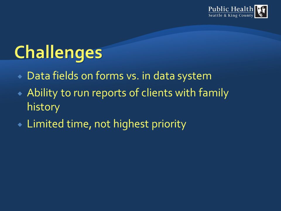 Challenges Data fields on forms vs. in data system