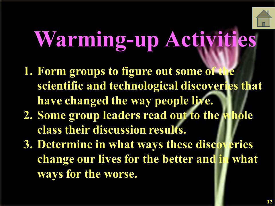 Warming-up Activities