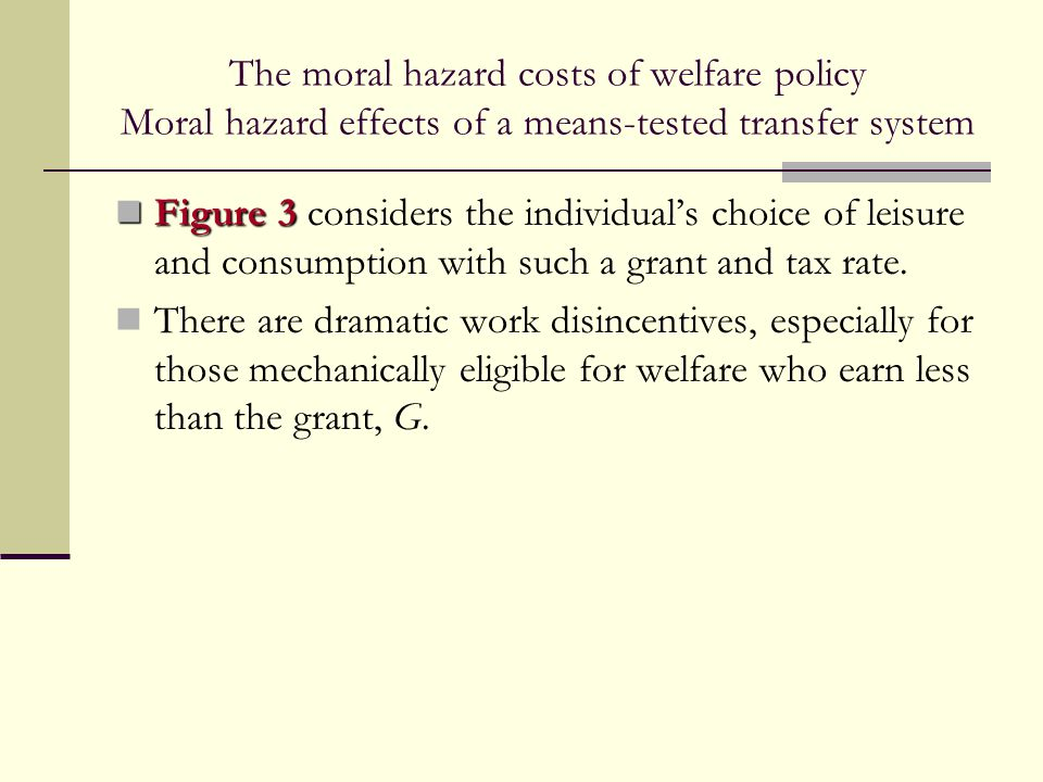the effects of canadian welfare policies Welfare e ffects of minimum wage and other government policies amos golan, je ffrey m perloff,andximingwu february, 2001 jeffery m perloff, department of.